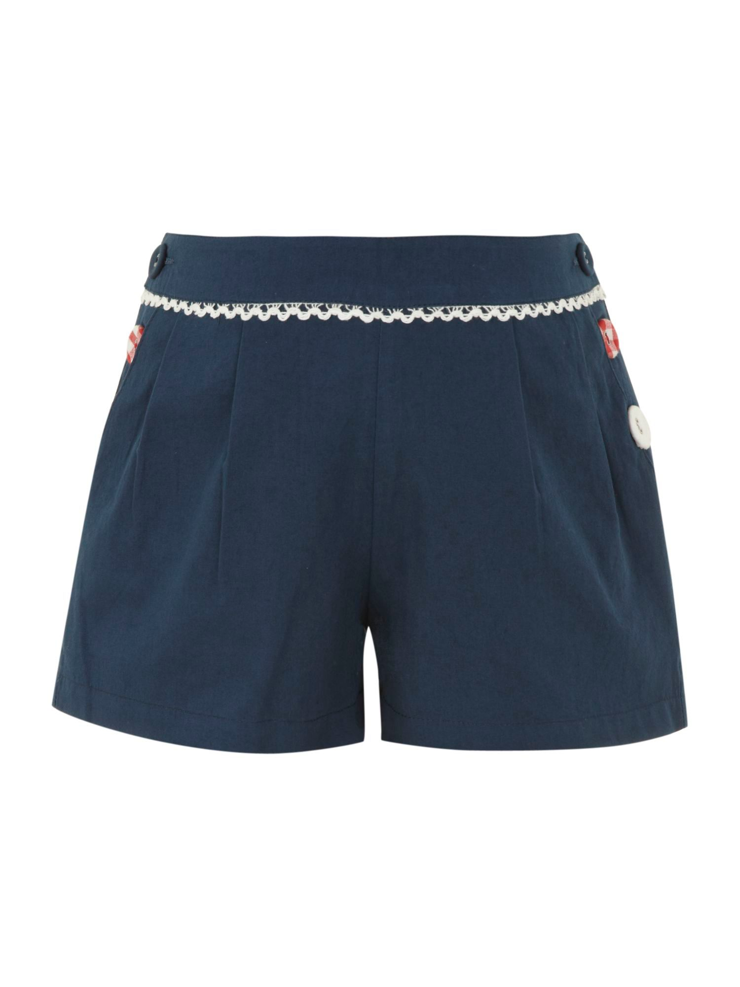 Girl`s button shorts
