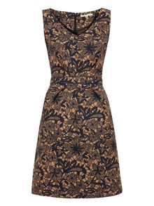 Lace Jacquard Dress