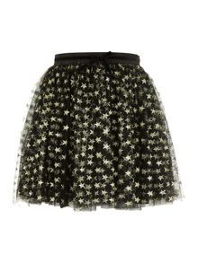 Girls starry sparkle skirt