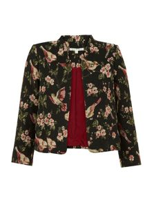 Uttam Boutique Bird Tapestry Jacket