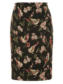 Bird Tapestry Skirt