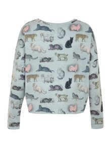 Raining Cats and Dogs Sweatshirt