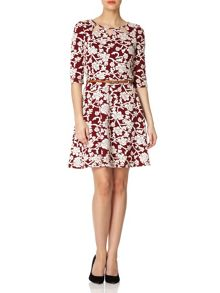 The Cut Out Floral Dress