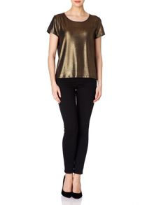Yumi Glitter and Gold Dust Top