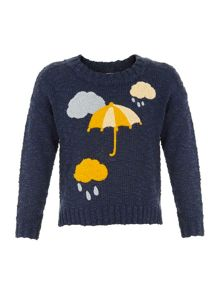 Yumi Girls Girls in the clouds jumper