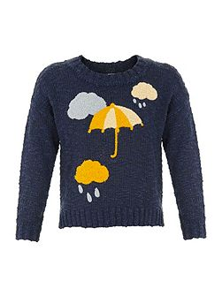 Girls in the clouds jumper