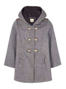 Yumi Girls Girls duffle coat
