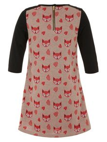 Girls foxes tunic