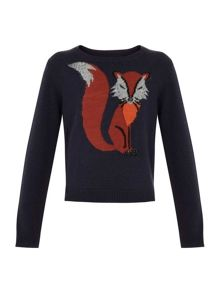 Girls mr fox jumper