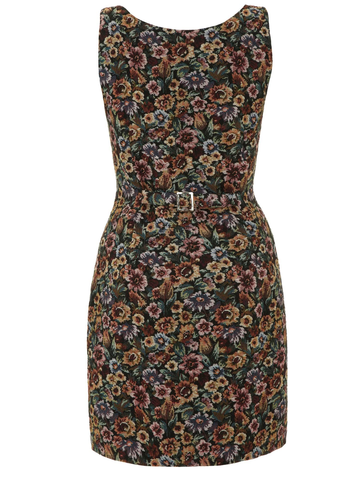 The Timeless Tapestry Waistcoat Dress