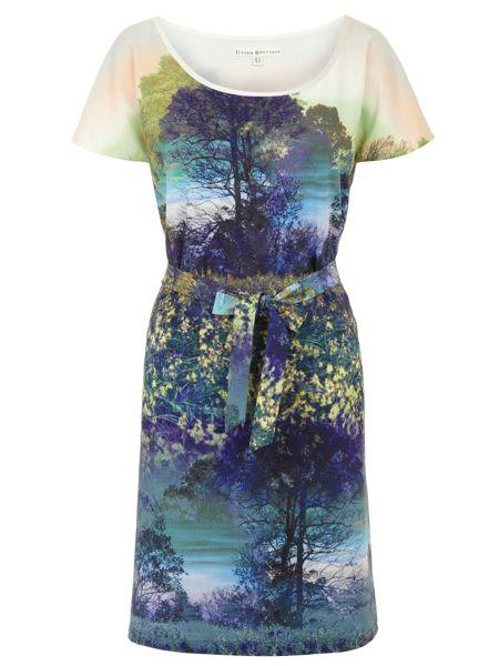 Uttam Boutique Trees and Bluebell Print Tunic