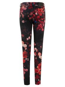 The Funky Florals Peg Leg Trousers