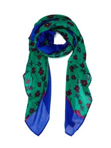 Rosey Posey Print Scarf