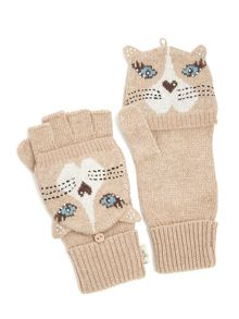 Cat Face Gloves
