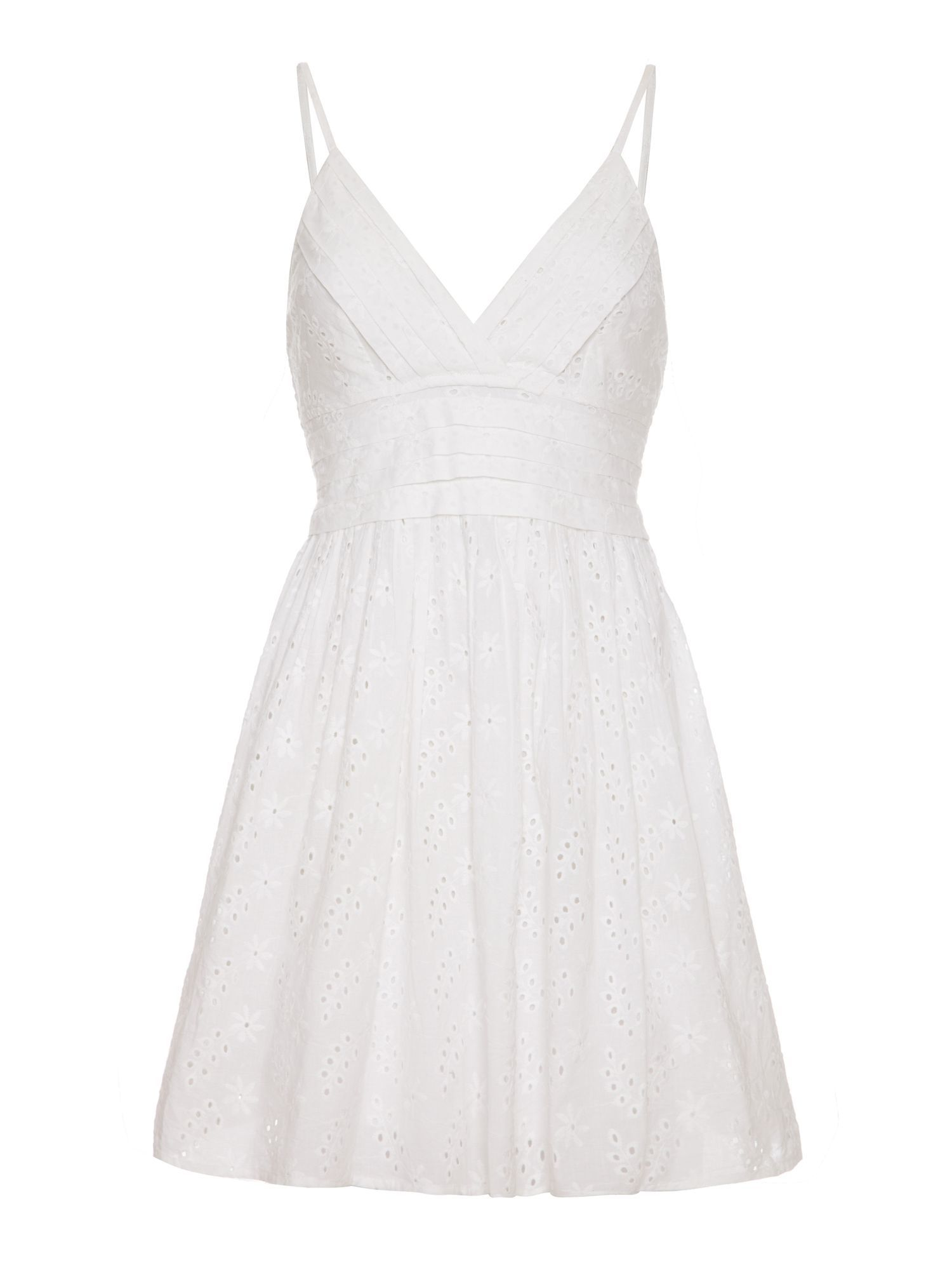Embroidery Anglaise Summer Dress