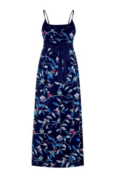 Uttam Boutique Bird Print Maxi Dress