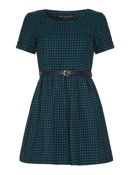 Mela London Belted check dress