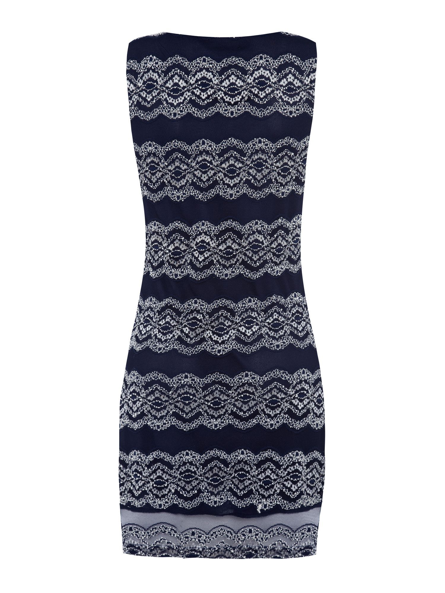 Lace detailed bodycon
