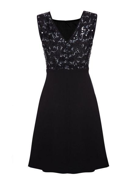 Yumi Flower Sequin Dress