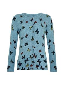 Girls butterfly cardigan