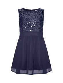 Yumi Girls Girls sequin dress
