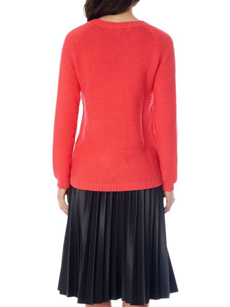Uttam Boutique Cable knit chunky jumper