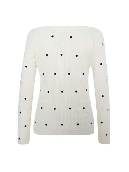 Uttam Boutique Daisy embroidered jumper