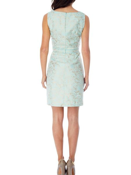 Uttam Boutique Pastel jacquard dress