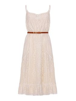 Uttam Boutique Lace panelled dress