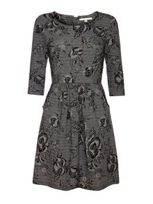 Blossom Jacquard Dress