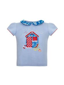 Girls beach hut t-shirt