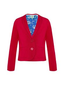 Uttam Girls cotton twill blazer