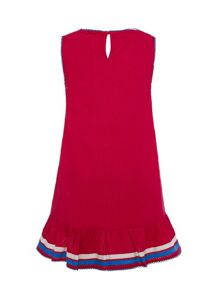 Uttam Girls A-Line Boat Dress