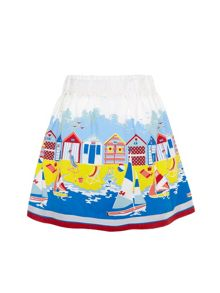Girls Beach Hut Skirt