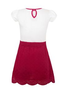 Girls T-Shirt And Skirt 2-Piece Set