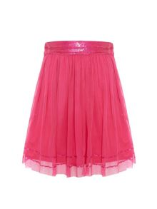 Uttam Girls Mesh Tutu Party Skirt