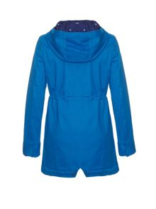 Blue Parka Jacket