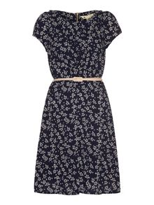 Yumi Ditsy Daisy Tea Dress