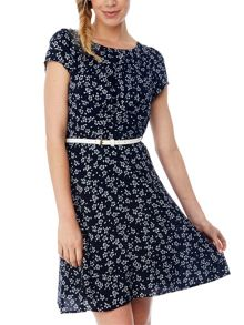 Ditsy Daisy Tea Dress
