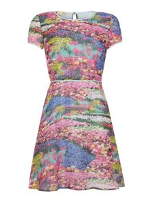 Yumi Meadow Print Dress