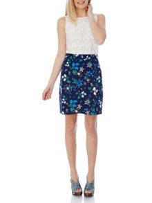 Floral Nature Print Skirt
