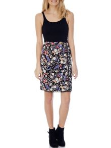 Mixed Daisy Skirt