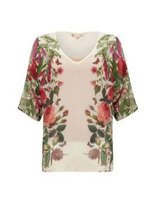Botanical Floral Top