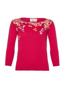 Flower Clusters Jumper