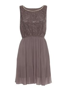 Mela Lace and Pearl Dress