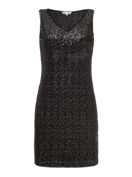 Yumi Sleeveless Sequin Dress