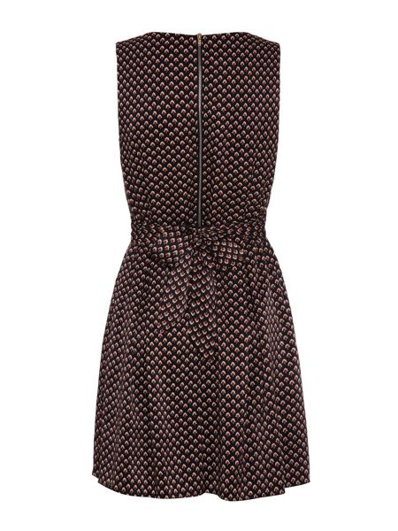 Mela London V-Neck Printed Dress