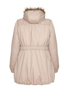 Yumi Hooded parka jacket