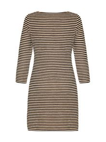 Mela London Striped bodycon dress