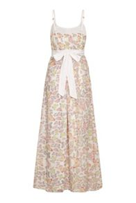 Uttam Boutique Butterfly Print Maxi Dress